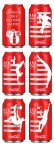 coca cola london olympics cans